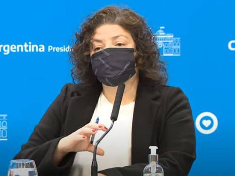 Carla Vizzotti anunció que deja de ser obligatorio el uso de barbijo al aire libre