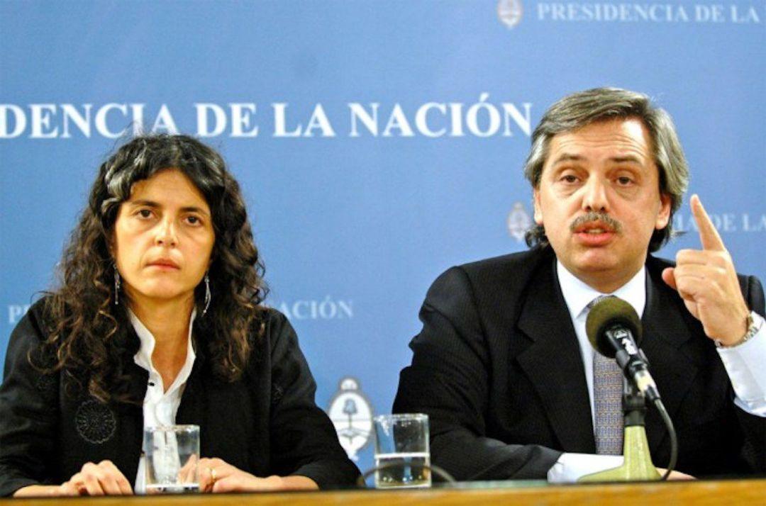 Romina Picolotti fue secretaria de Media Ambiente entre 2006 y 2008; el jefe de Gabinete en aquel momento era el actual presidente Alberto Fernández