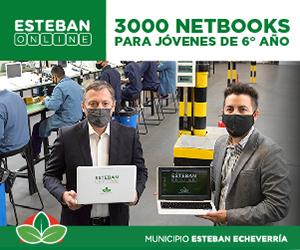 Anuncio Esteban Echeverria. Netbooks - Octubre 2021