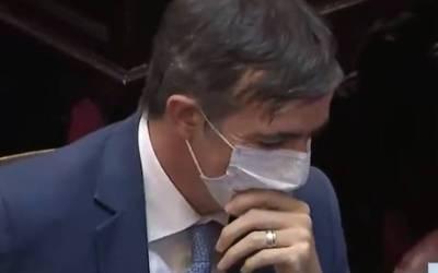 El conmovedor aplauso a Esteban Bullrich en la primera sesión presencial en el Senado