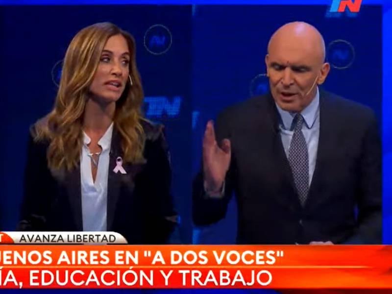 El fuerte cruce entre Victoria Tolosa Paz y José Luis Espert: «Usted dice estupideces»