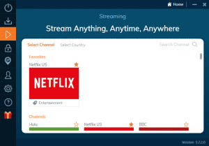 ivacy vpn windows app streaming mode