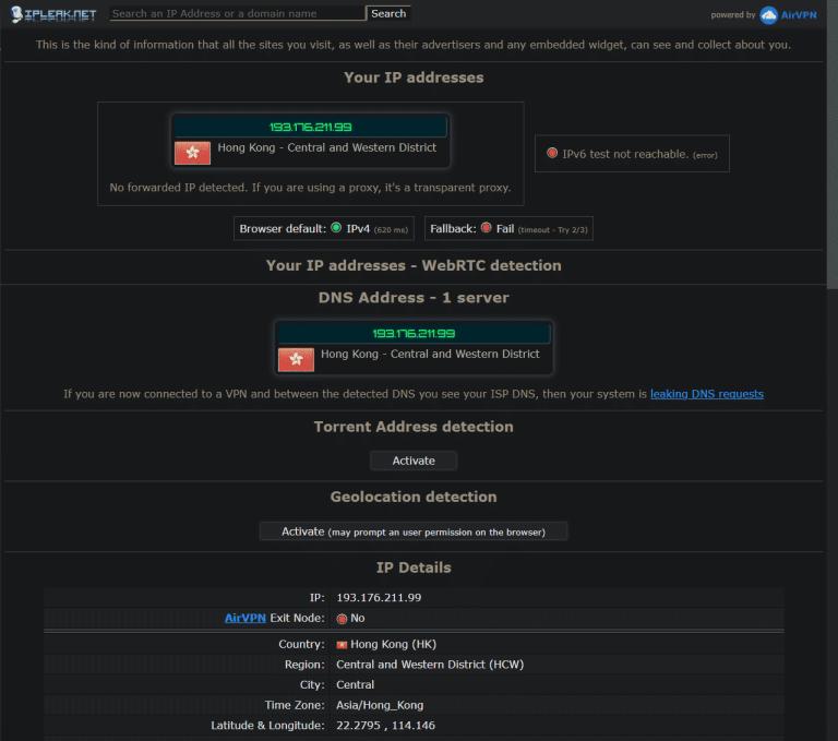 ExpressVPN no ip dns webrtc leaks