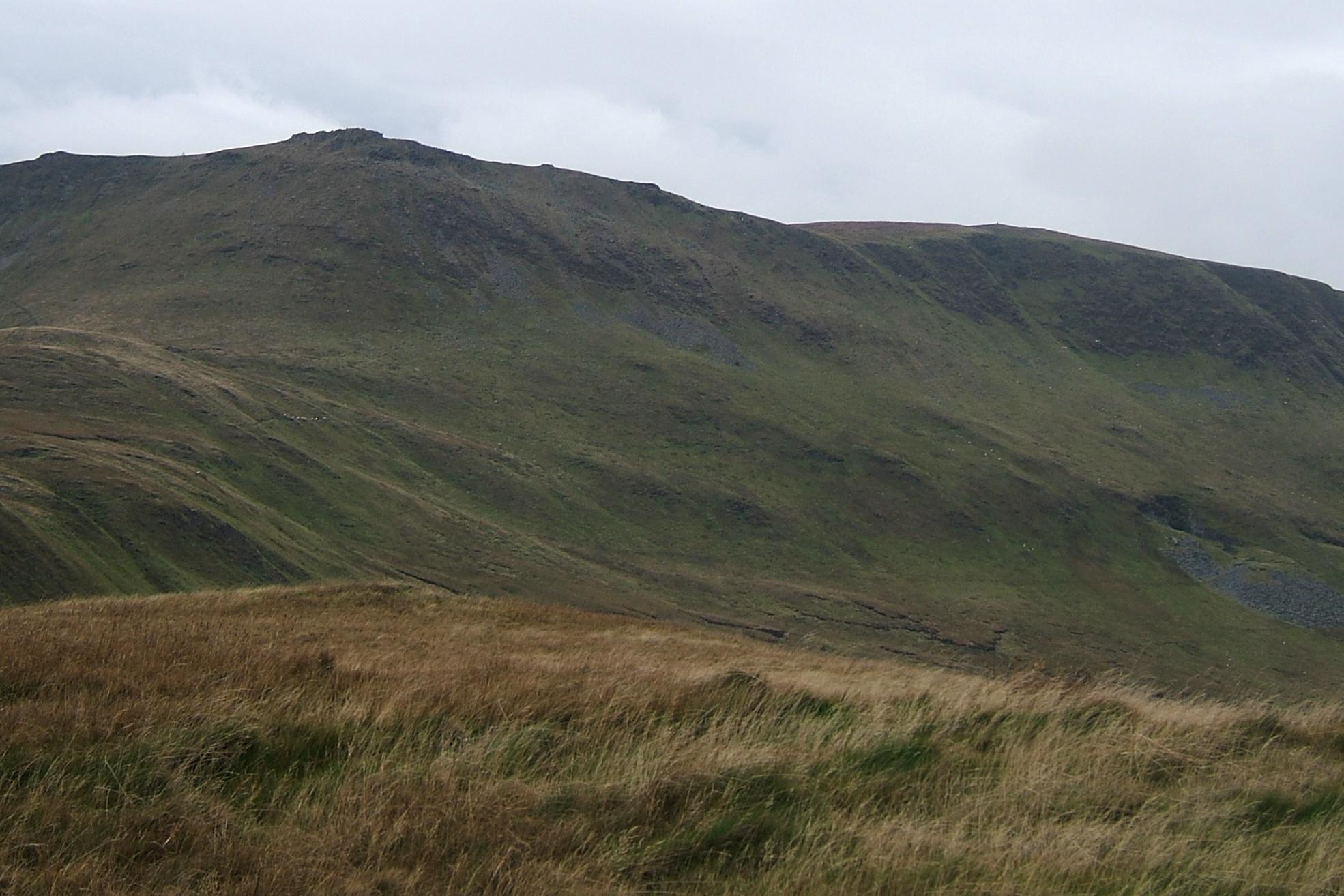 Cadair Berwyn from Moel yr Ewig