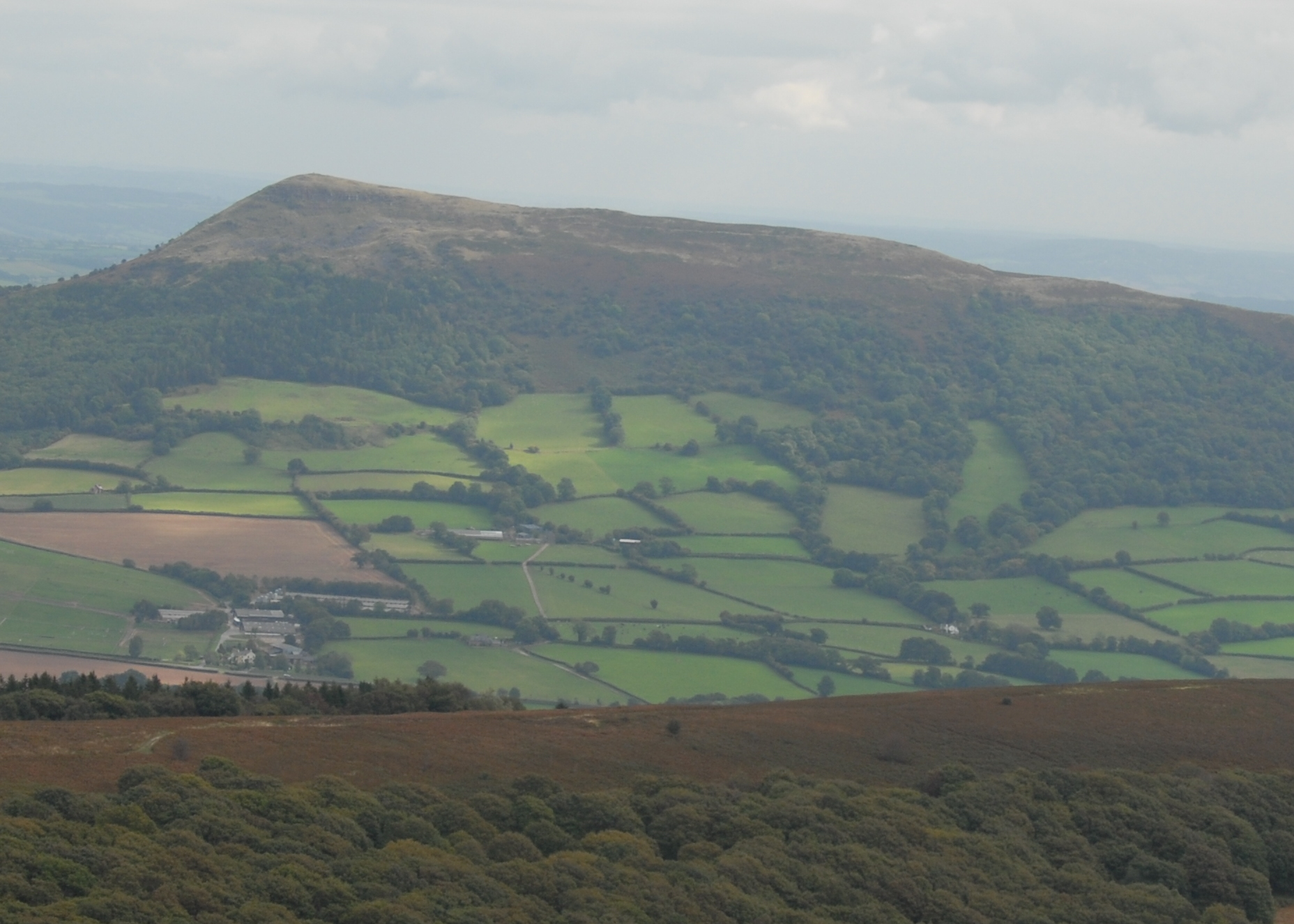 Skirrid Hill from Sugar Loaf