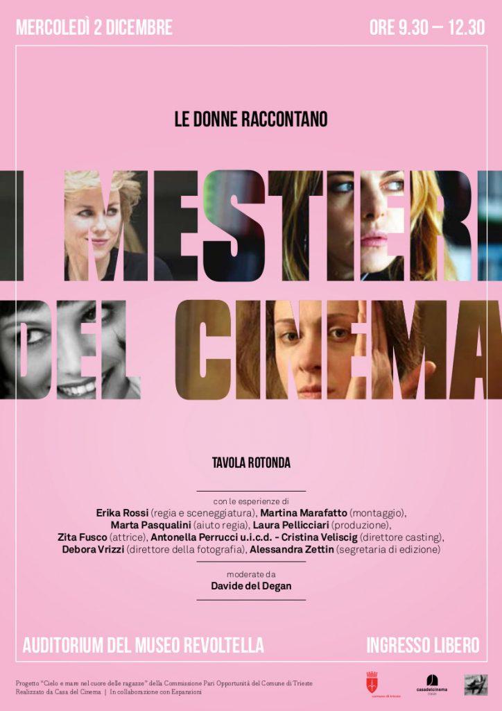 Le Donne raccontano i Mestieri del Cinema
