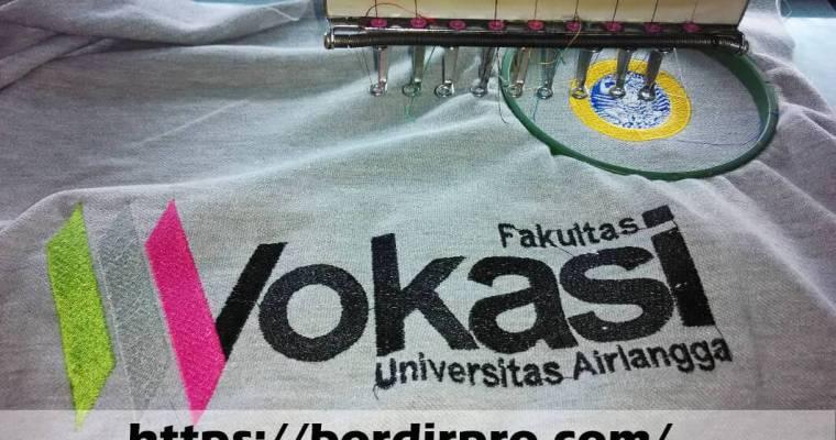 Jasa Bordir Komputer Kaos Murah di Surabaya