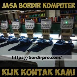 Lokasi Jasa Bordir Komputer di Pusat Kota Surabaya