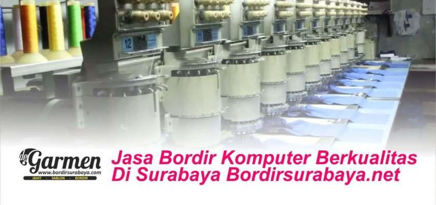 Jasa Bordir Komputer Berkualitas Surabaya Bordirsurabaya.net