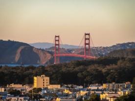 Golden Gate from the Reservoir