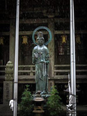 Statue at Seiganto-ji