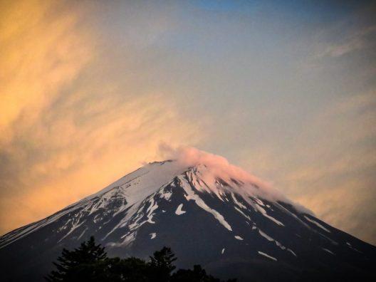 Sunset Fujisan