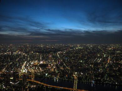Taito, Tokyo at Dusk