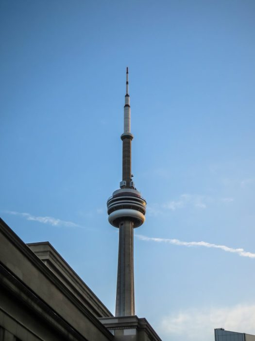 CN Tower at Union Station