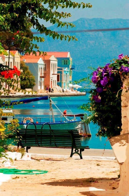 Seaside, Kastelorizo, Greece