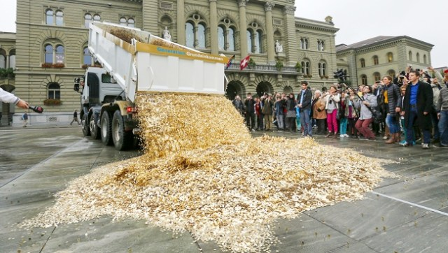 Switzerland's planning to give everyone 2,000 francs a month — even if they don't work...