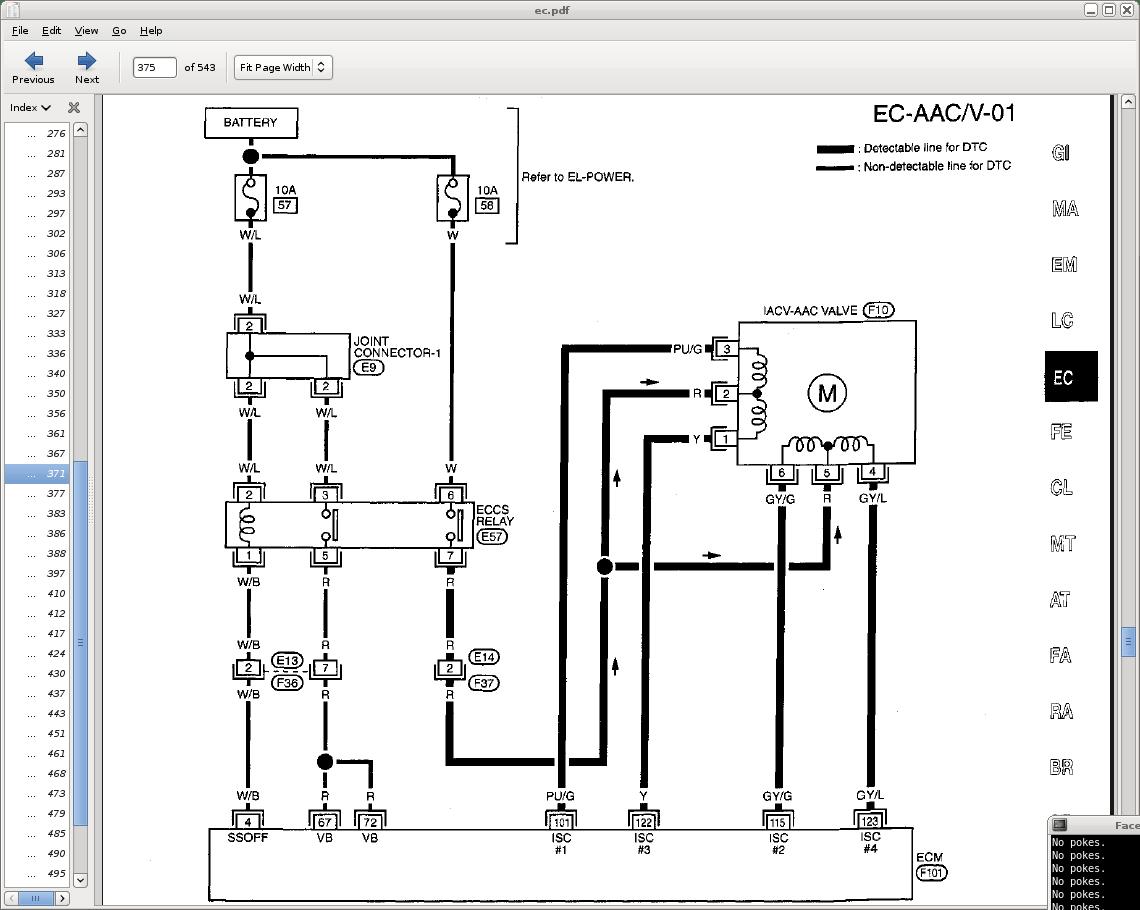 IAC Electrical Schematic