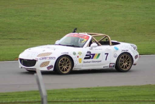 Donington Park BRSCC MX-5 SuperCup 2017
