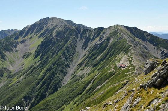 Ainodake 間ノ岳, 3.189 m