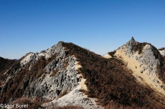 Houousan 鳳凰山, 2.840 m