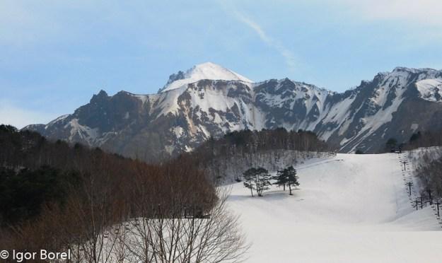 Bandaisan 磐梯山, 1.819 m