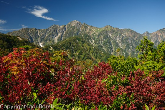 Goryudake 五竜岳, 2.814 m