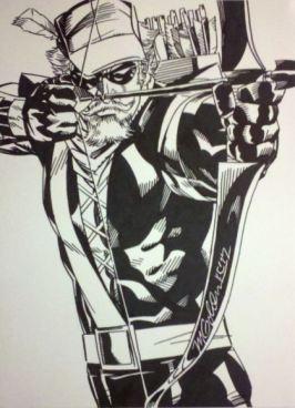 Green Arrow by Michael Golden