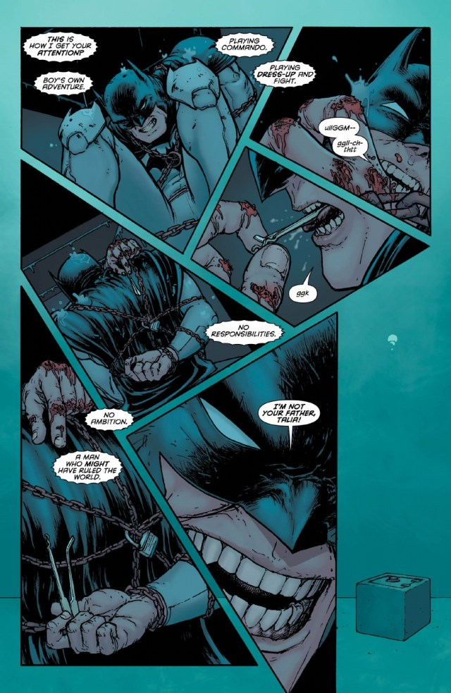 Batman Inc Issue 8 preview page 5