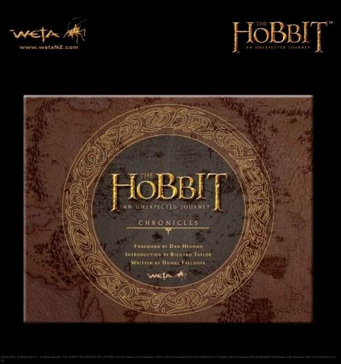 Hobbit book Chronicles from Weta
