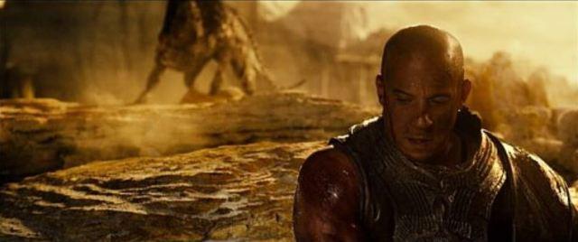 Dragon and Riddick