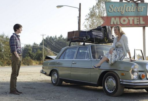 Norman and Norma at soon to be Bates Motel