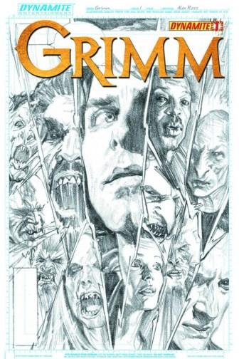 Grimm cover alternate Alex Ross sketch