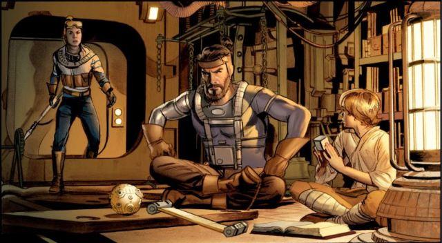 Mike Mayhew The Star Wars panel 4