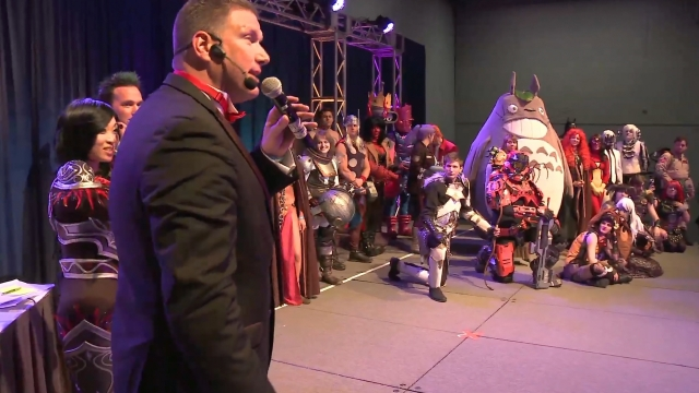 Heroes of Cosplay competition