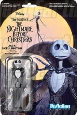 Jack Skellington Nightmare Before Christmas action figure card