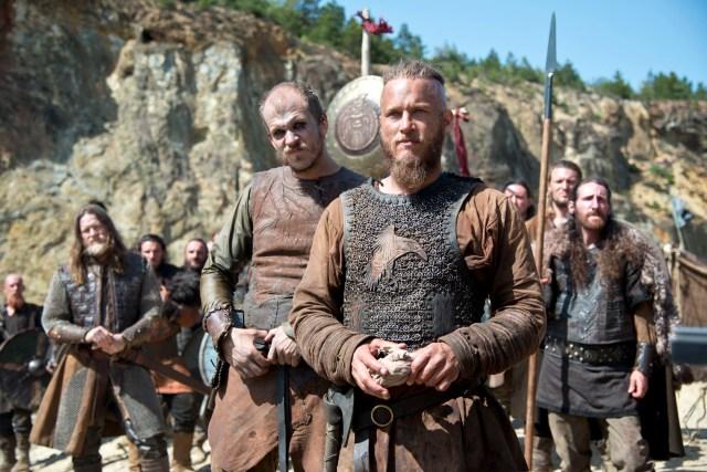Ragnar and Floki season 2 episode one