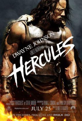 Hercules Dwayne Johnson 2014 poster