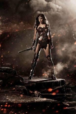 Gal Gadot Wonder Woman SDCC 2014 reveal