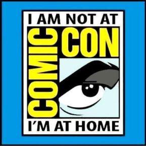 Not at Comic Con logo