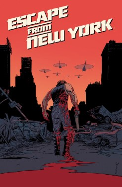 Escape from New York cover A