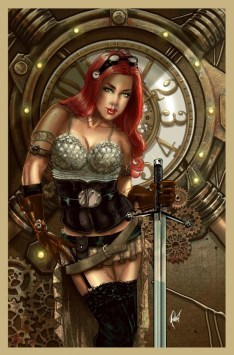Legenderry Red Sonja Poulat cover