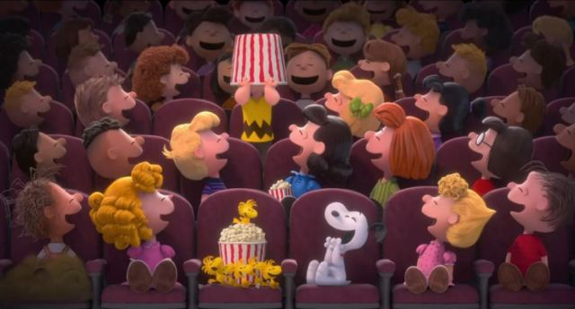 3D peanuts movie