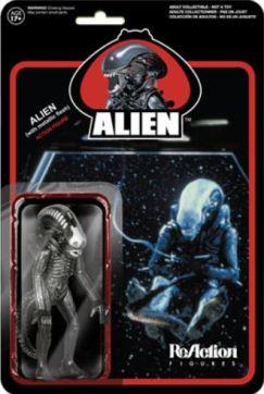 New metallic Alien figure