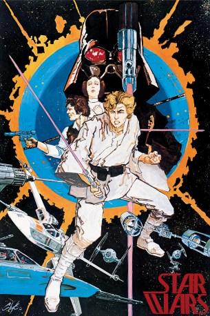 Star Wars original Chaykin poster