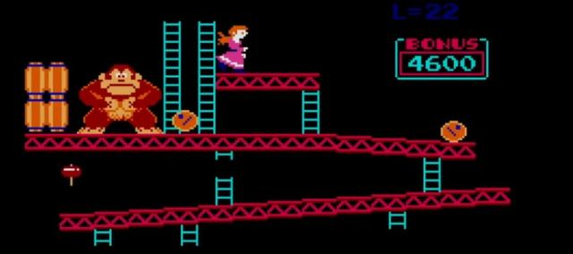 Donkey Kong screen