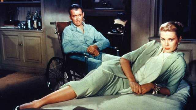 Grace Kelly Jimmy Stewart
