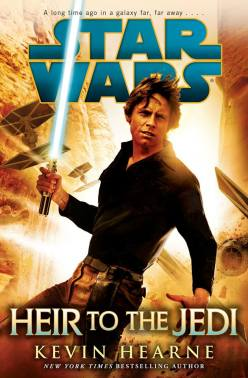 Heir to the Jedi Star Wars cover