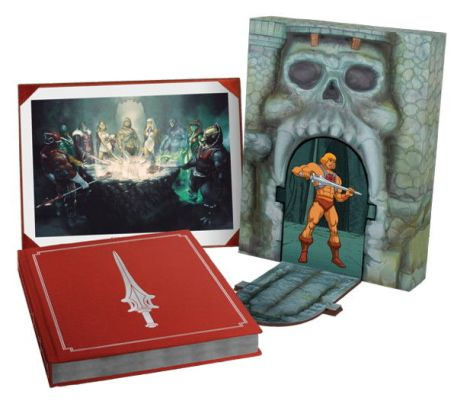 The Art of He-Man and the Masters of the Universe Limited Edition Hardcover slipcase edition