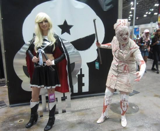 Evil Supergirl zombie cosplay KCCC 2015