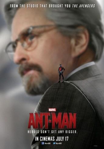 Michael Douglas Ant-Man poster Hank Pym